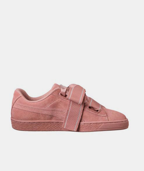 PUMA - W Suede Satin II - Cameo Brown