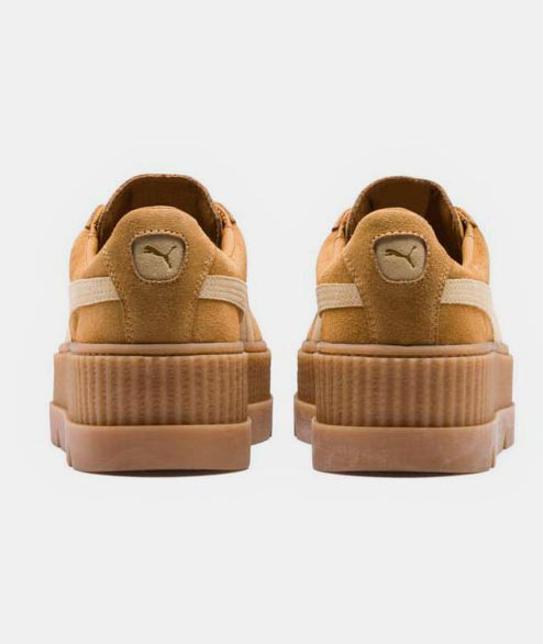 Puma - W Cleated Creeper - Golden Brown
