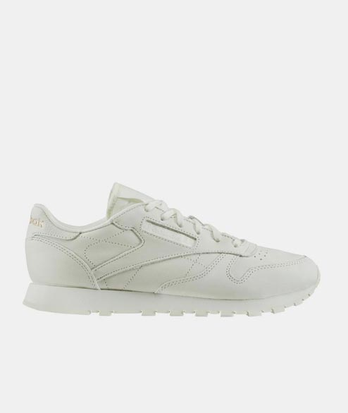 Reebok - W CL LTHR Suede - White Rose Gold