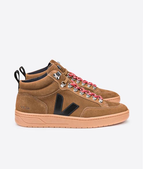 Veja - W Roraima Suede - Brown Black Gum Sole
