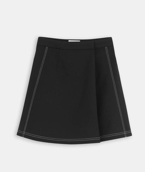 Wood Wood - W Rosalia Skirt - Black
