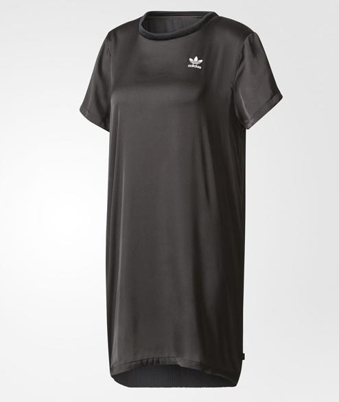 Adidas originals - W TRF Tee Dress - Black