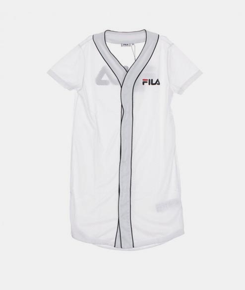 FILA - W Robin Button Dress - White