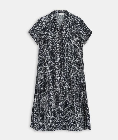 Wood Wood - W Lima Dress - Floral Navy